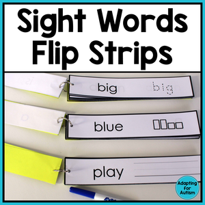Sight Words and CVC Words - Word Work Task BUNDLE