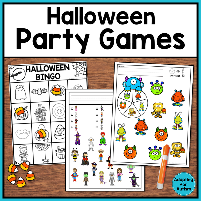 Halloween BINGO and Party Games