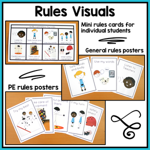 PE Visual Supports and Schedules