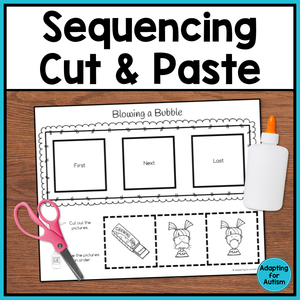 Cut and Paste Sequencing Worksheets