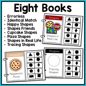 Shapes Adapted Books