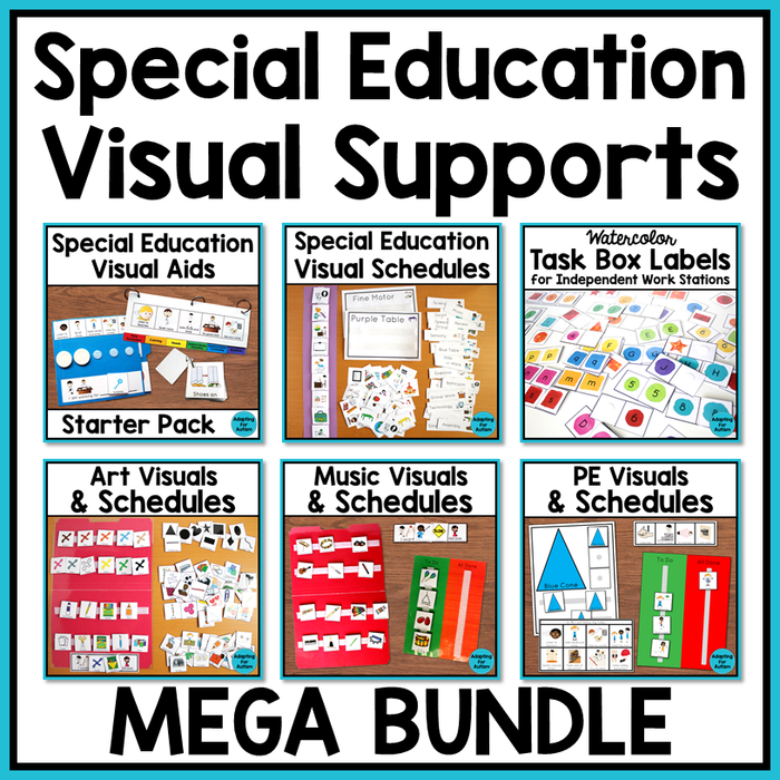 Autism Visual Supports Bundle