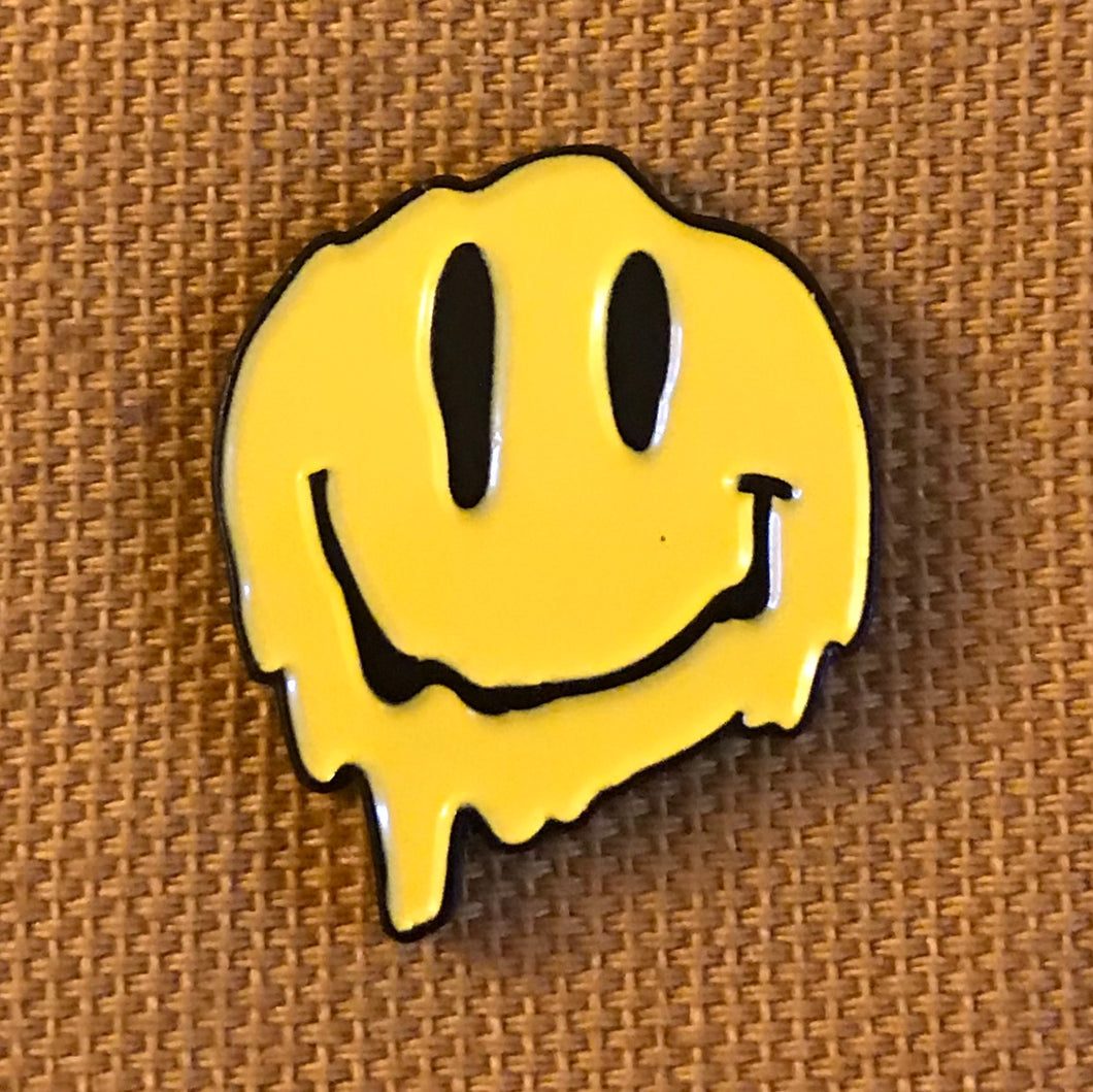 Face Melter (Yellow) Pin