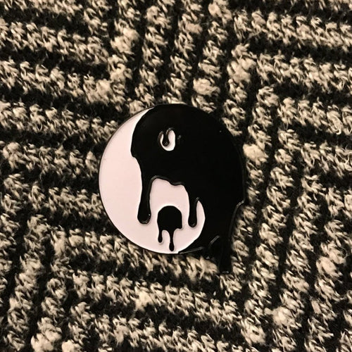 Glow In The Dark Acid Disco Pin