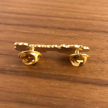 Load image into Gallery viewer, Walker & Royce Logo Pin (Special Edition Gold on Gold)