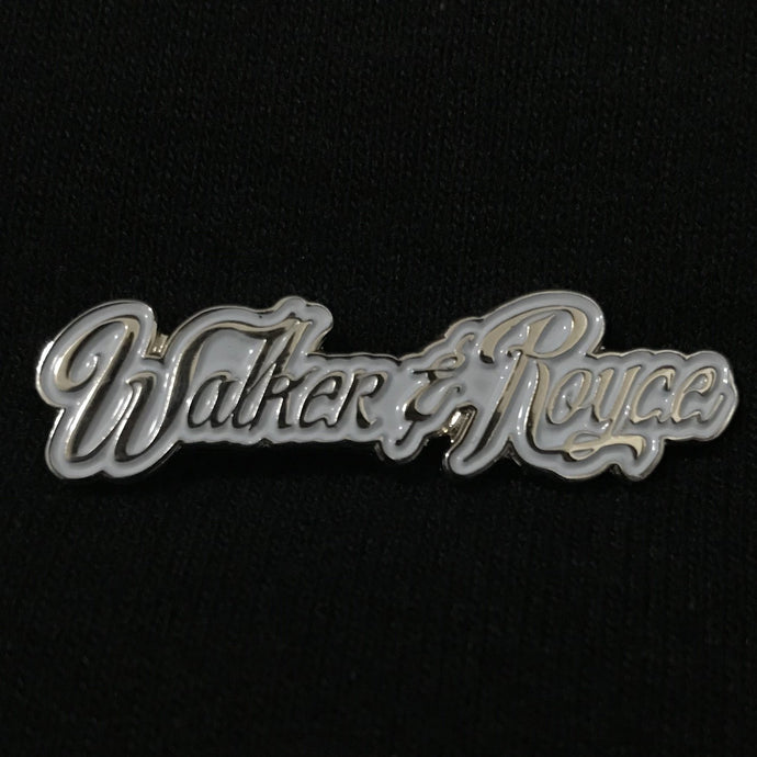 Walker & Royce Logo Pin (Ice Blue)