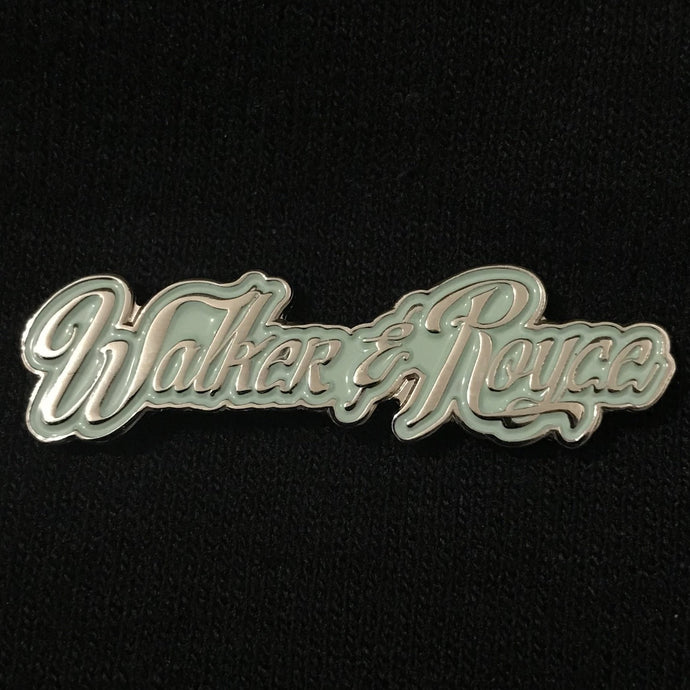 Walker & Royce Logo Pin (Mint)