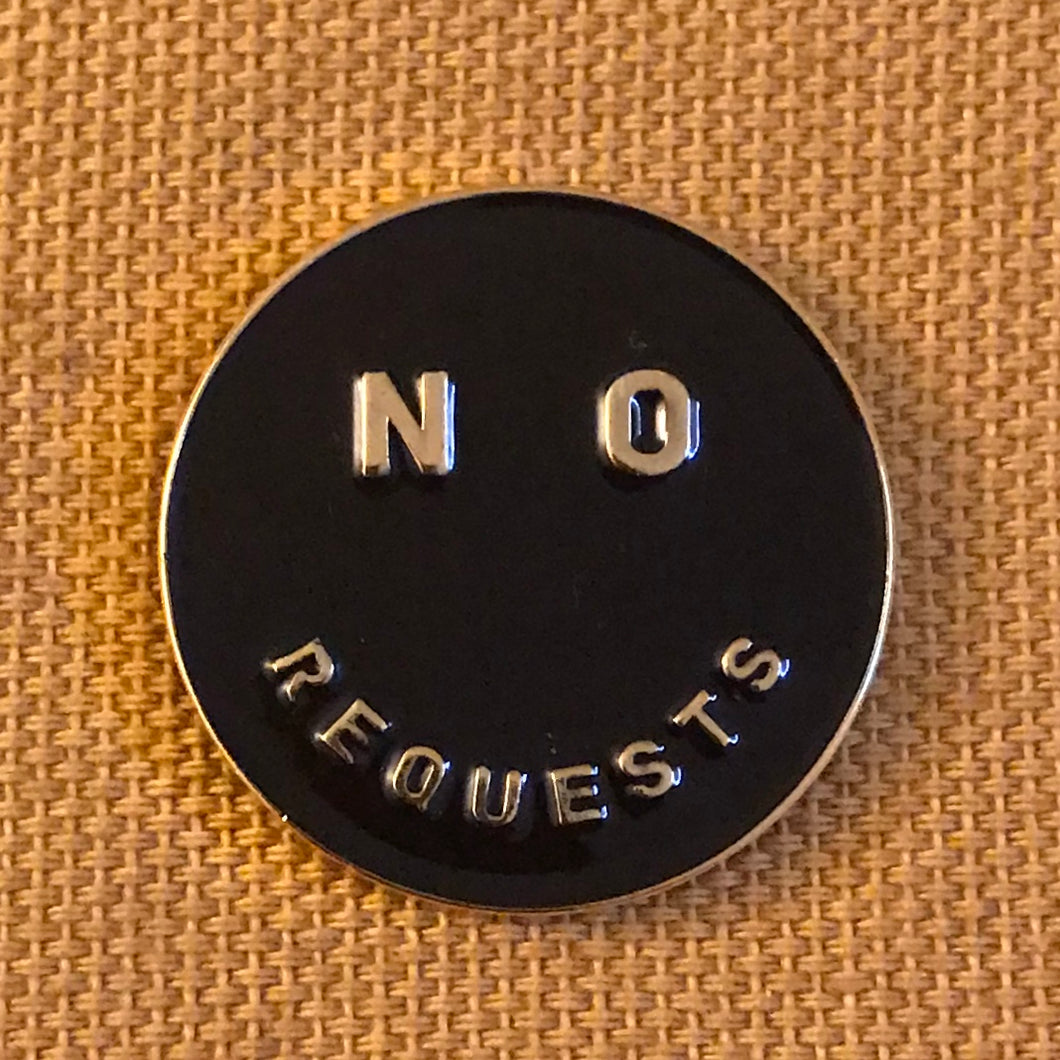 No Requests Pin