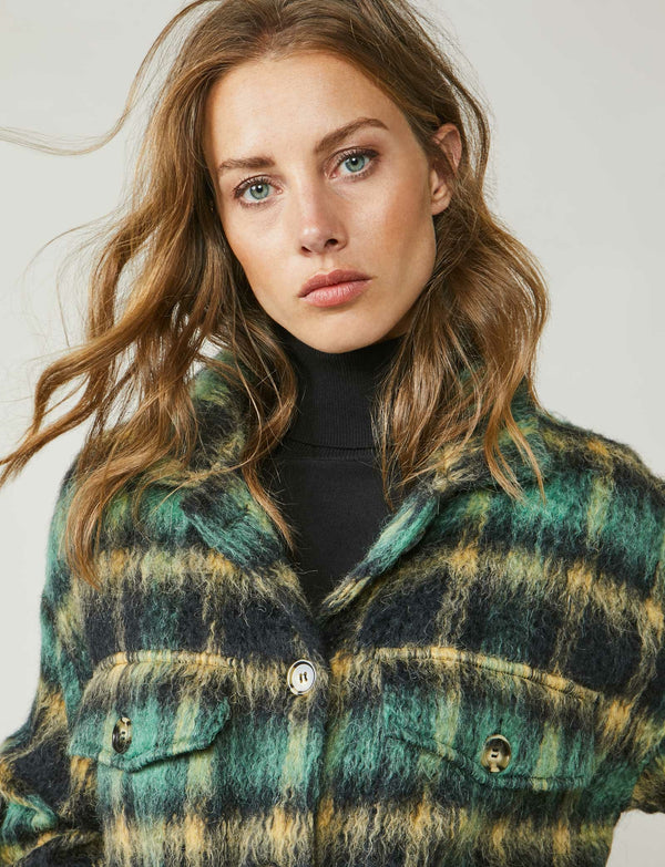 Summum Woman - Checked Shirt Jacket