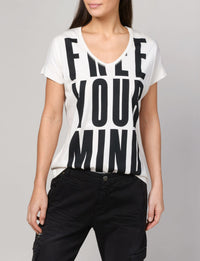 Summum Woman - Tee Free Your Mind Shirt SLV