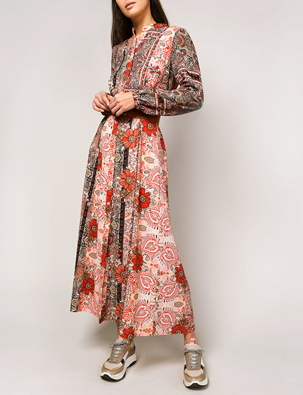 Summum Woman -  Dress Oriental Flower