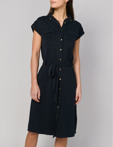 Summum Woman - Black Safari Dress