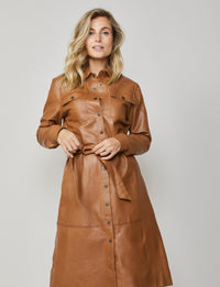 Summum Woman - Dress leather jacket