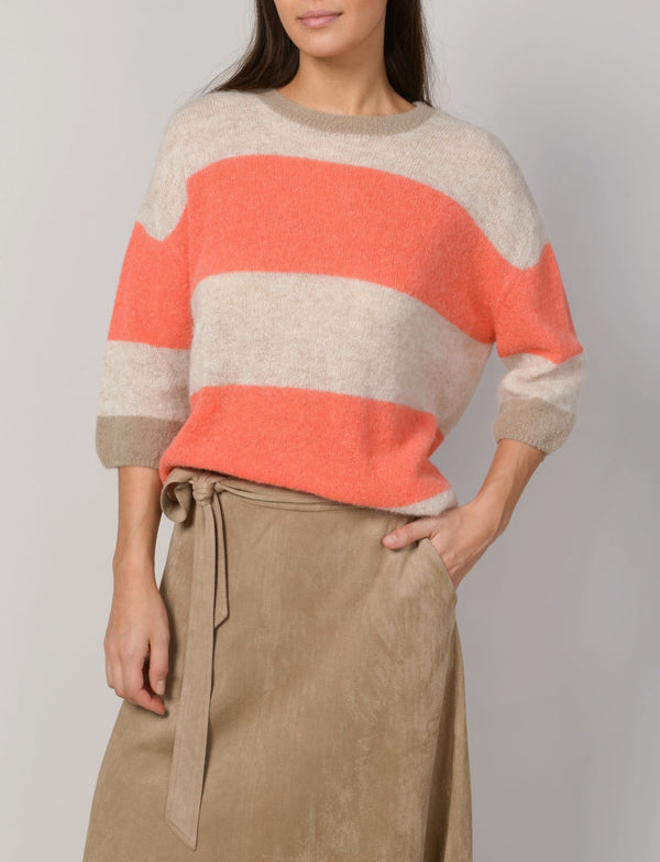 Summum Woman -  Pullover Short Sleeve Superfine Alpaca