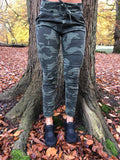 Piro Army camouflage jeans fra italien