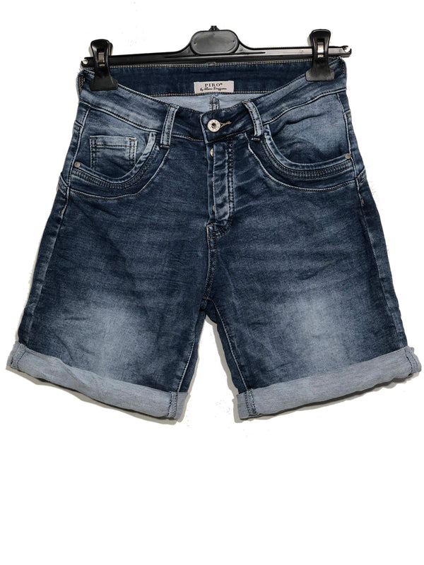 Piro shorts - 6012 Simple jeans shorts