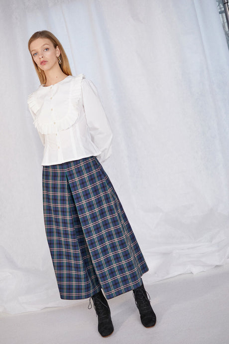 Sun Pant- Chelsea Plaid Navy
