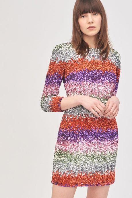 Sophie Short Dress- Multicolor