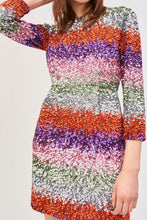 Load image into Gallery viewer, Sophie Short Dress- Multicolor