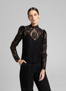 Carlise Top- Black