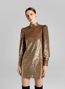 Christy Dress- Gold