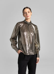 Lydia Top- Black/Gold