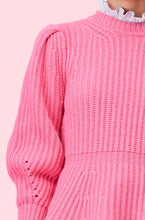 Load image into Gallery viewer, Merino Ribbed Pullover- Bloom