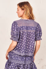 Load image into Gallery viewer, Arabella Top- Blue Jean