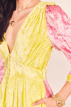 Load image into Gallery viewer, Avalon Dress- Chartreuse Deep Pink