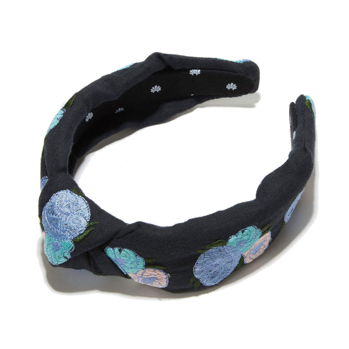 Blackbell Embroidered Headband