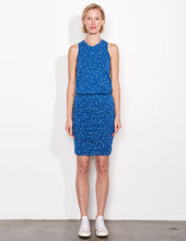 Load image into Gallery viewer, Stars Sleeveless Dress- Dusty Indigo