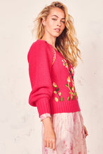 Load image into Gallery viewer, Jailynne Pullover- Magenta