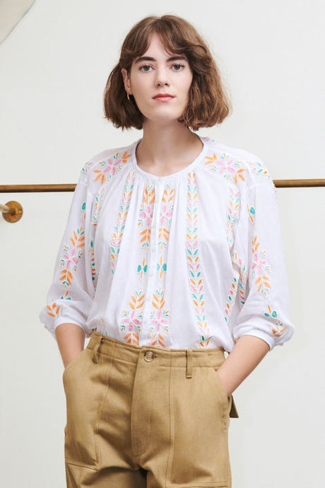 Minko Blouse- White