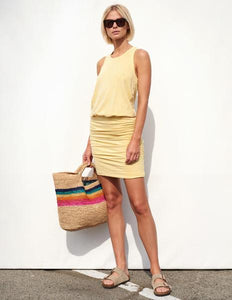 Sleeveless Dress- Chamomile