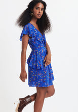 Load image into Gallery viewer, Madelena Dress- Blue Floral