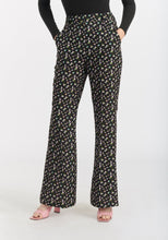 Load image into Gallery viewer, Reese Pant- Black Brushed Floral