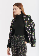 Load image into Gallery viewer, Waverly Blazer- Black Brushed Floral