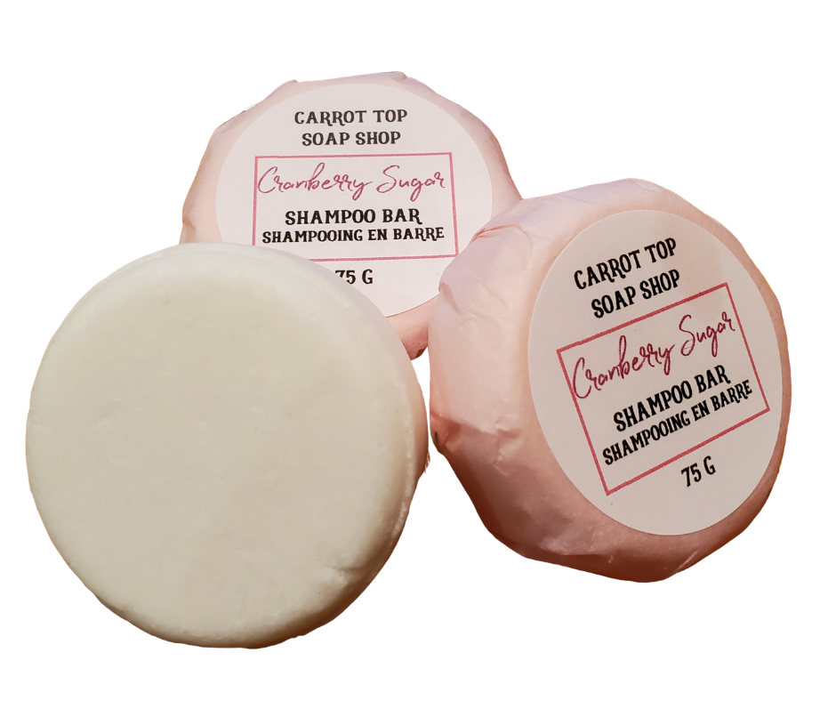 Cranberry Sugar Shampoo Bar