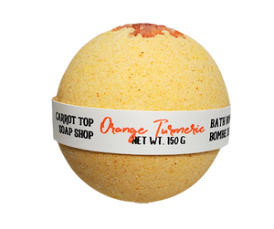 Orange Turmeric Bath Bomb