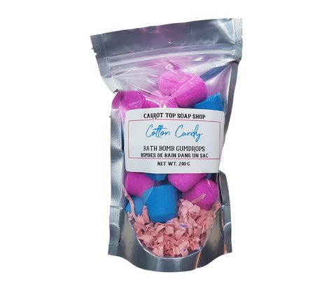 Cotton Candy Bath Bomb Gumdrops