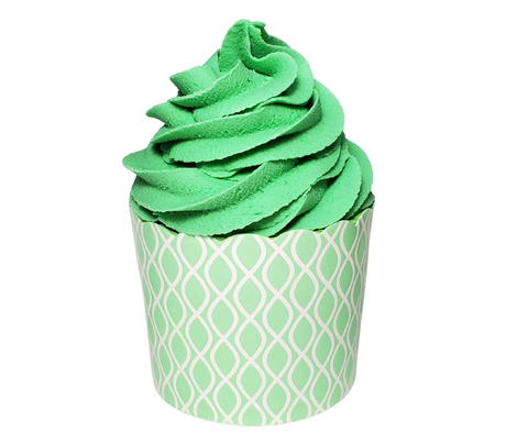 Coconut Lime Bath Cupcake