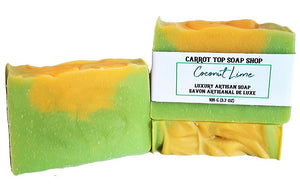 Coconut Lime Handcrafted Soap
