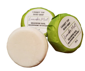 Lavender Mint Shampoo Bar