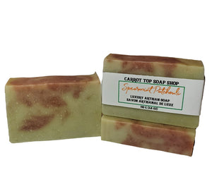 Spearmint Patchouli Handcrafted Soap