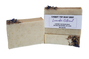 Lavender Oatmeal Handcrafted Soap