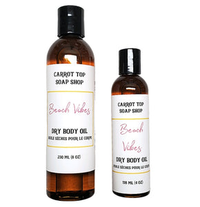 Beach Vibes Dry Body Oil