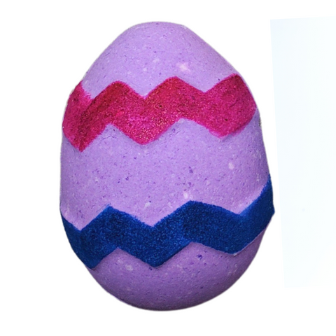 Rainbow Egg Bath Bomb
