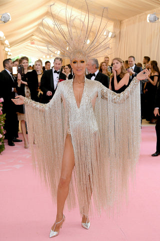 Celine Dion Met Gala Ellis Wilson Designs fashion style handbags made in usa Ellis Wilson