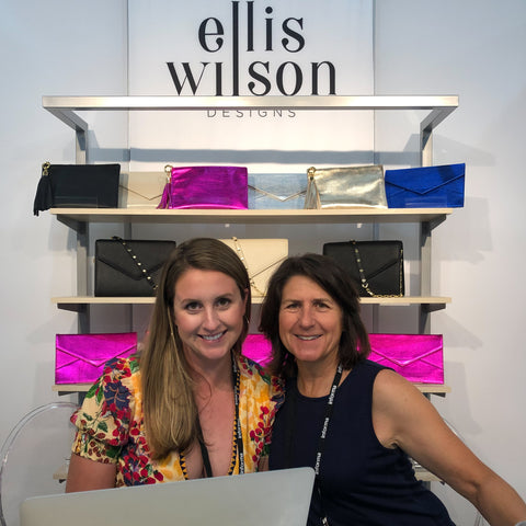 Ellis Wilson Designs support female entrepreneurs Handbags made in usa leather accessories
