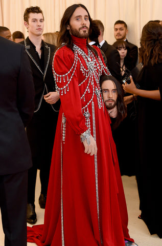 Jared Leto Met Gala 2019 Ellis Wilson Designs fashion style handbag made in usa Ellis Wilson